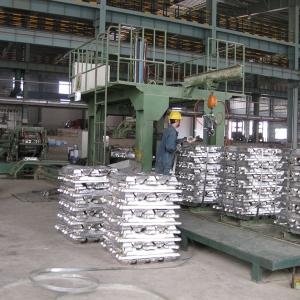 压铸铝锭的铸造工艺流程